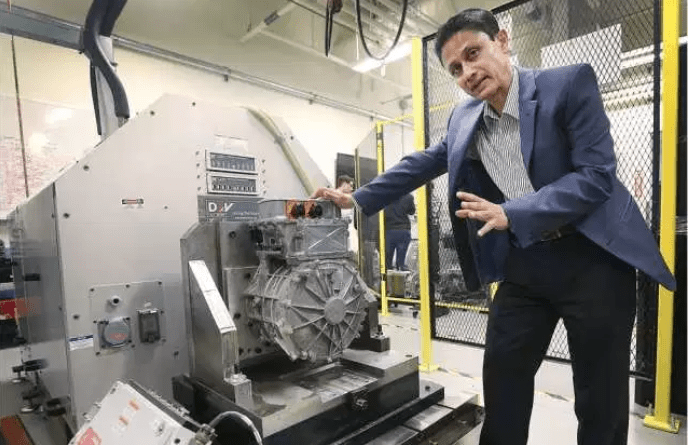 Auto industry investing millions in electrification...